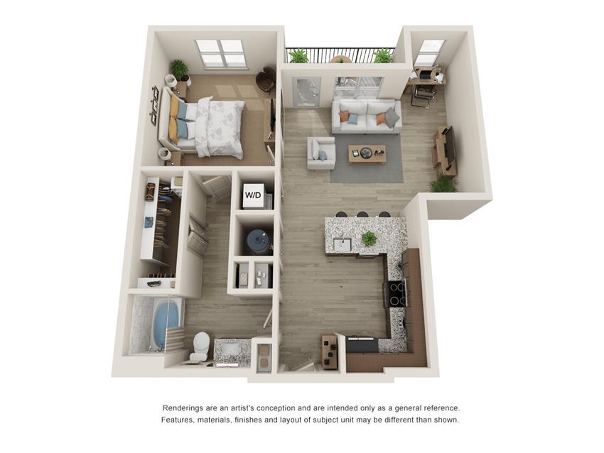 Westloop A5 Floor Plan
