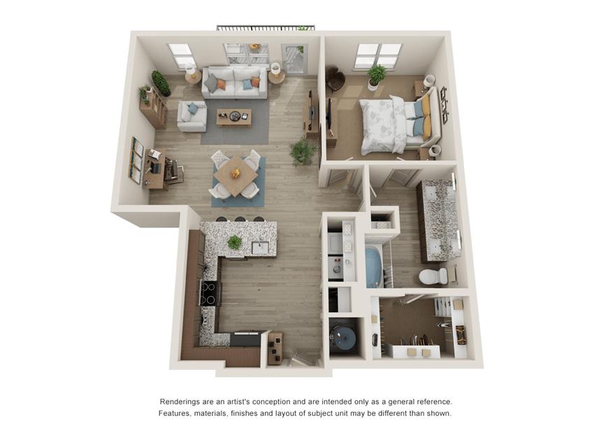 Westloop A6 Floor Plan