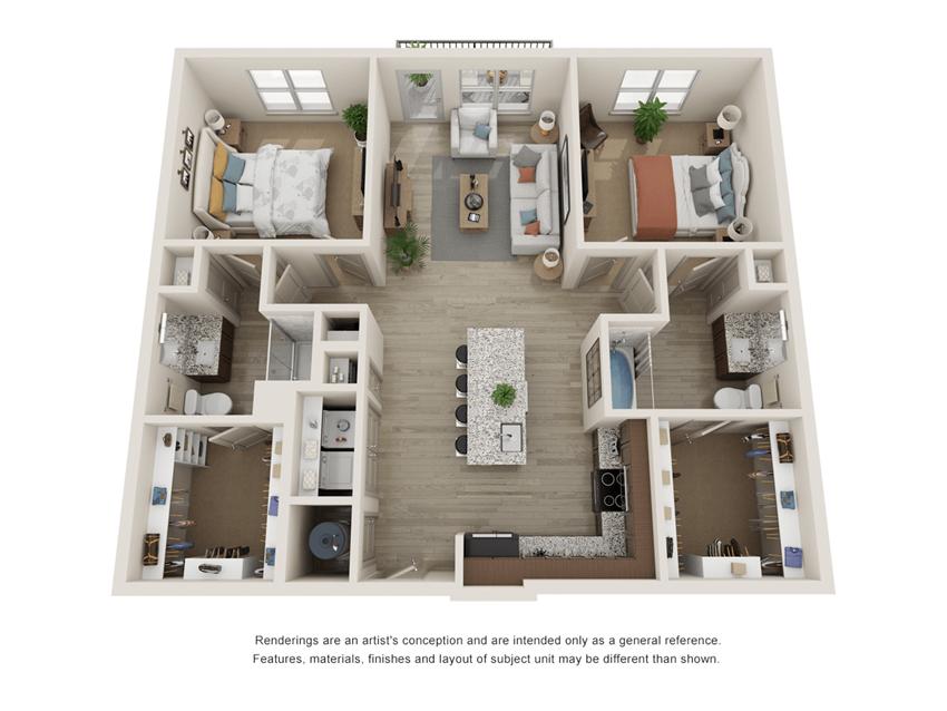 Westloop B1 Floor Plan