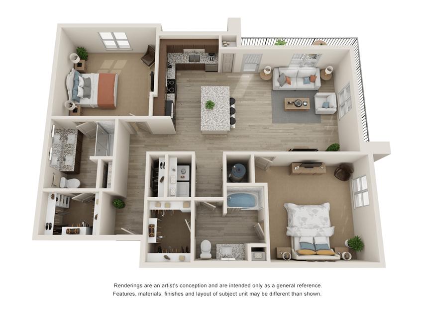 Westloop B4 Floor Plan