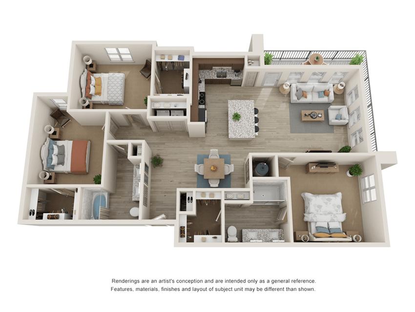 Westloop C1 Floor Plan