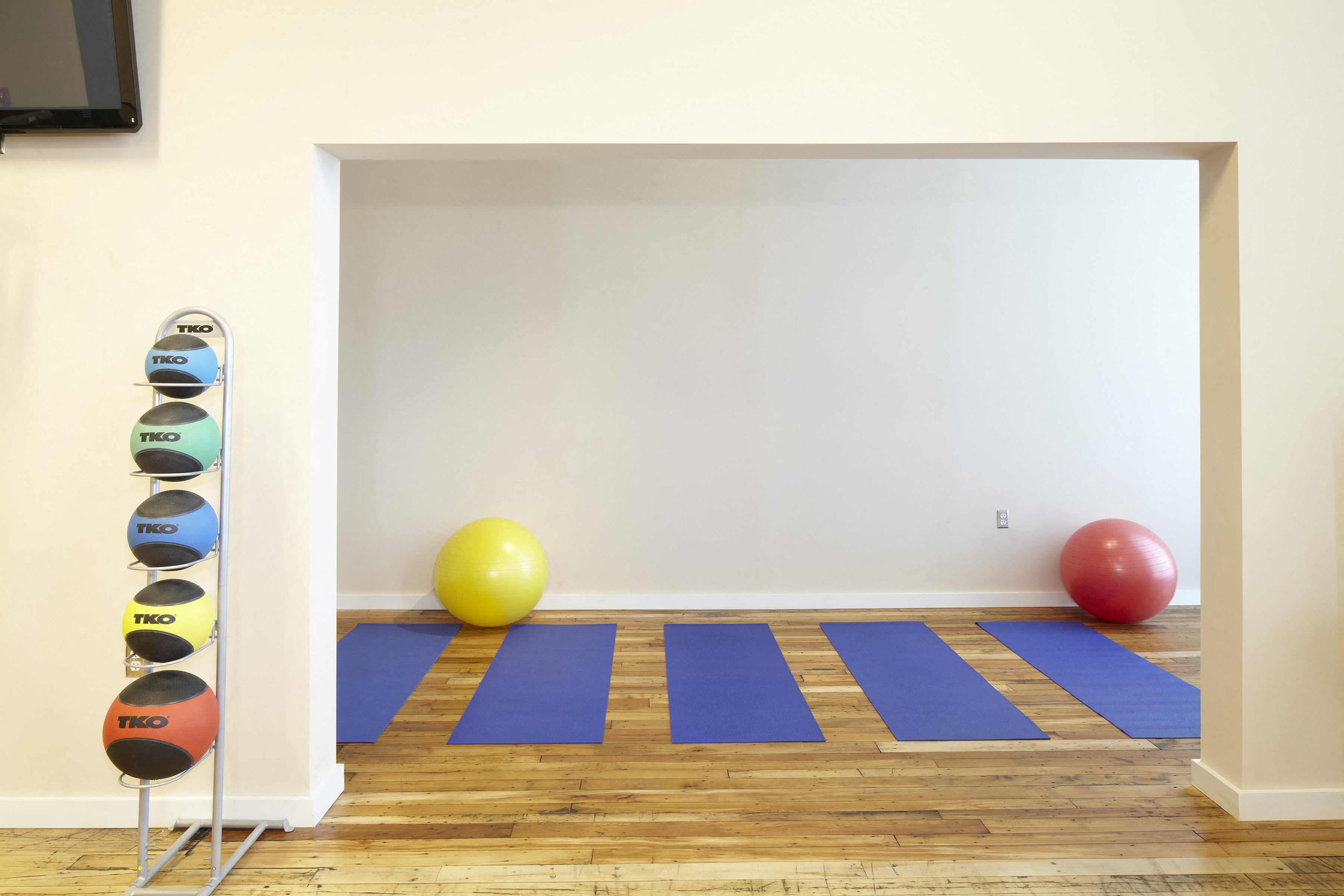 Image Of Medicine Ball at Riverwalk West, Lawrence, MA, 01843