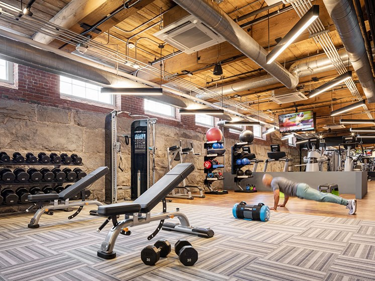 High Endurance Fitness Center at Thorndike Exchange, Lowell, MA, 01852