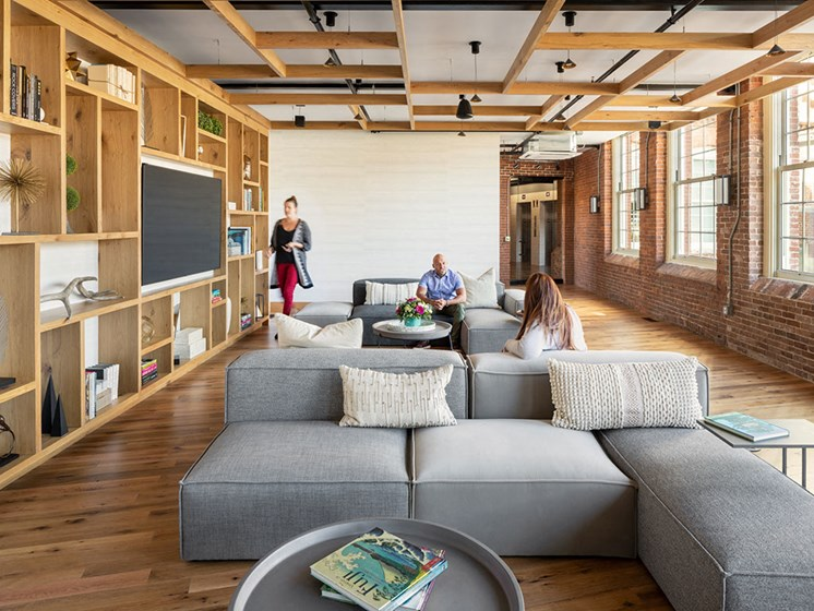 Plaza Lounge at Thorndike Exchange, Massachusetts, 01852