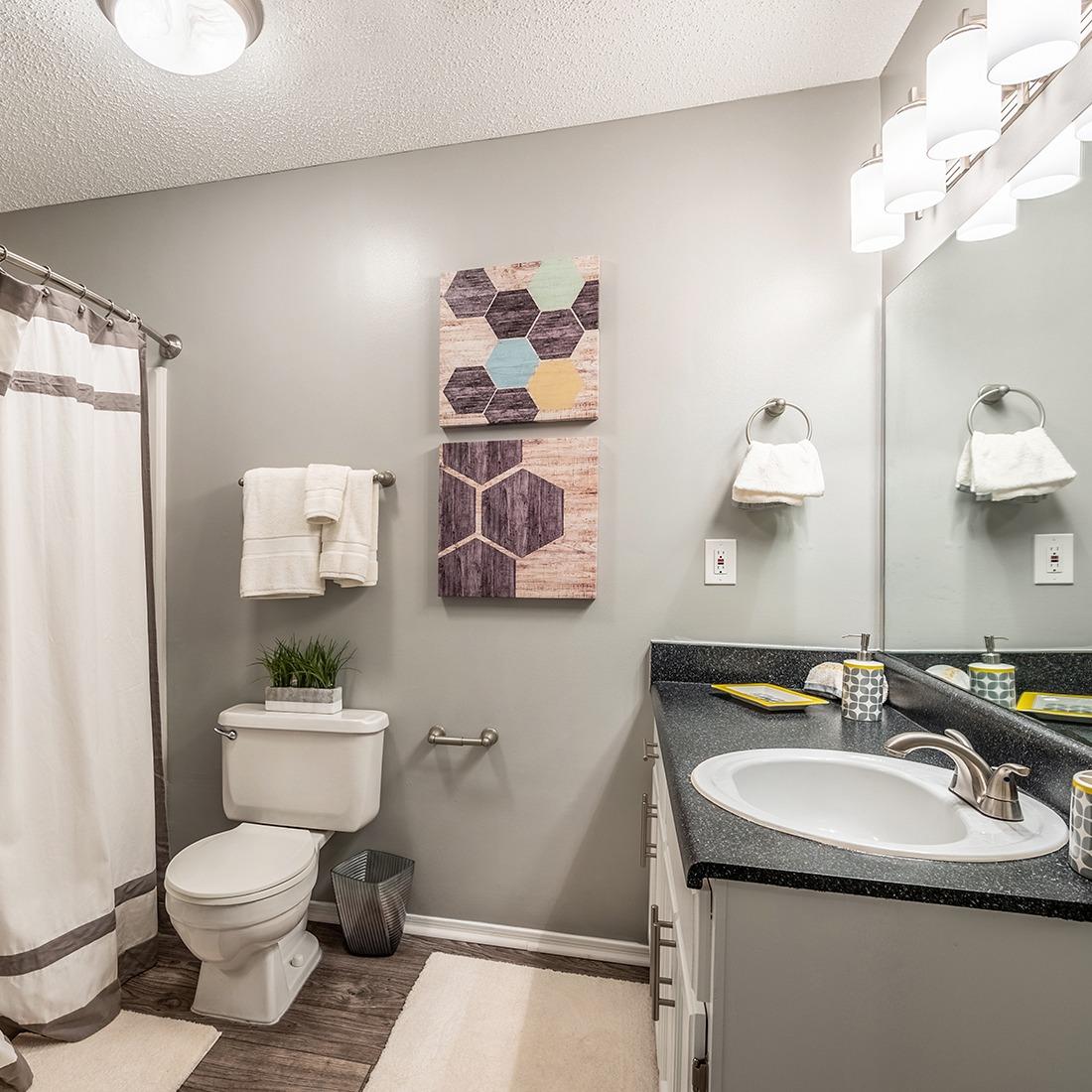 Model Bathroom 1