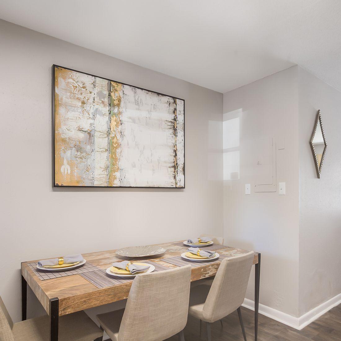 Model Dining Area