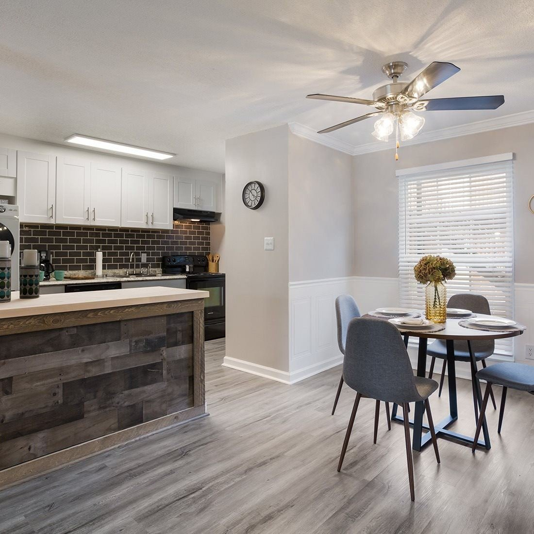 Model Dining and Kitchen