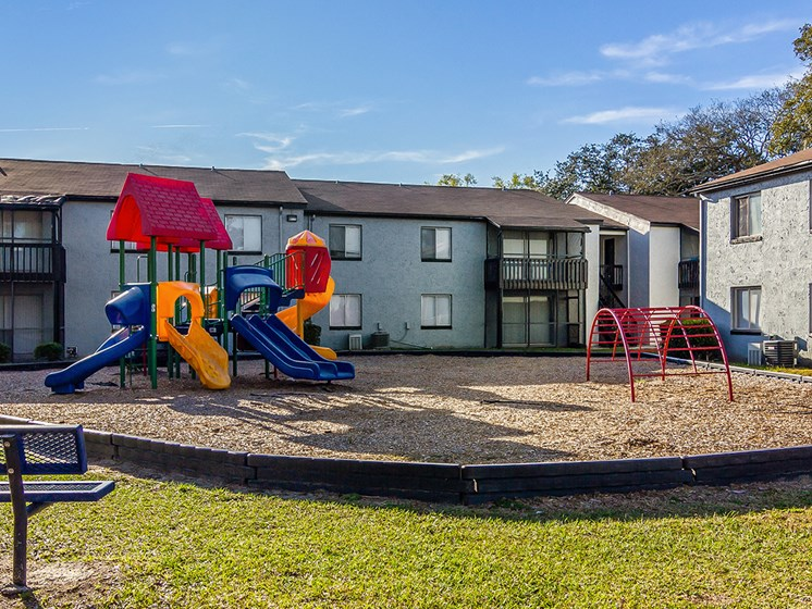 Playground at The Oaks on Monument Apartments in Jacksonville