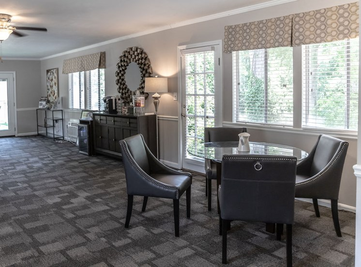 furnished clubhouse at Magnolia Crossing in Macon GA