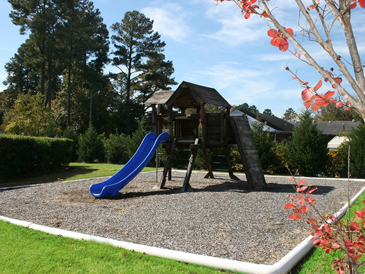 Children's playground at Crescent Commons Apartments