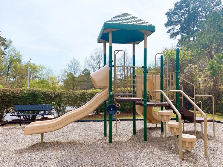 fayetteville apartment community with playground jungle gym