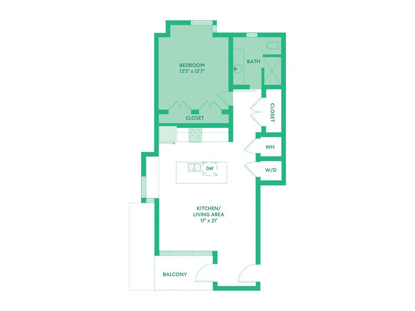 One Bedroom, C2