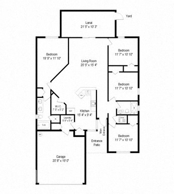 3602 Harvest Orchard Dr 4 Beds House for Rent Photo Gallery 1