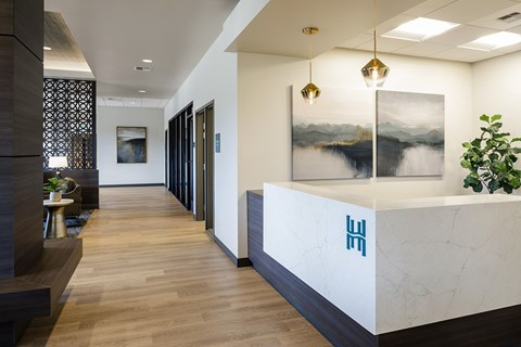 Concierge Desk at Harbor Heights, Olympia, WA