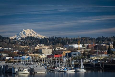 Olympia Views with Rainier