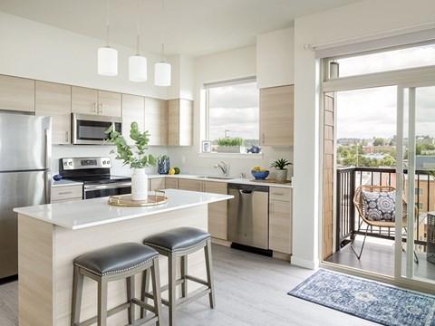 Kitchen at Harbor Heights, Olympia, WA, 98501