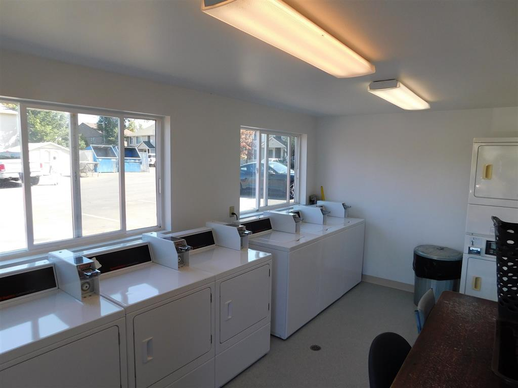 On-site laundry facilities.