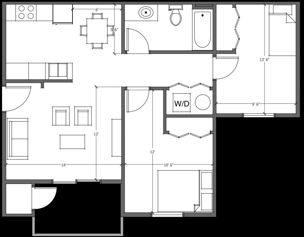 Birch Hills 2 Bedroom w/ W/D