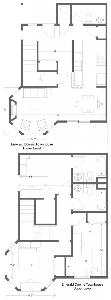 3 Bed 2.5 Bath Floor Plan 7