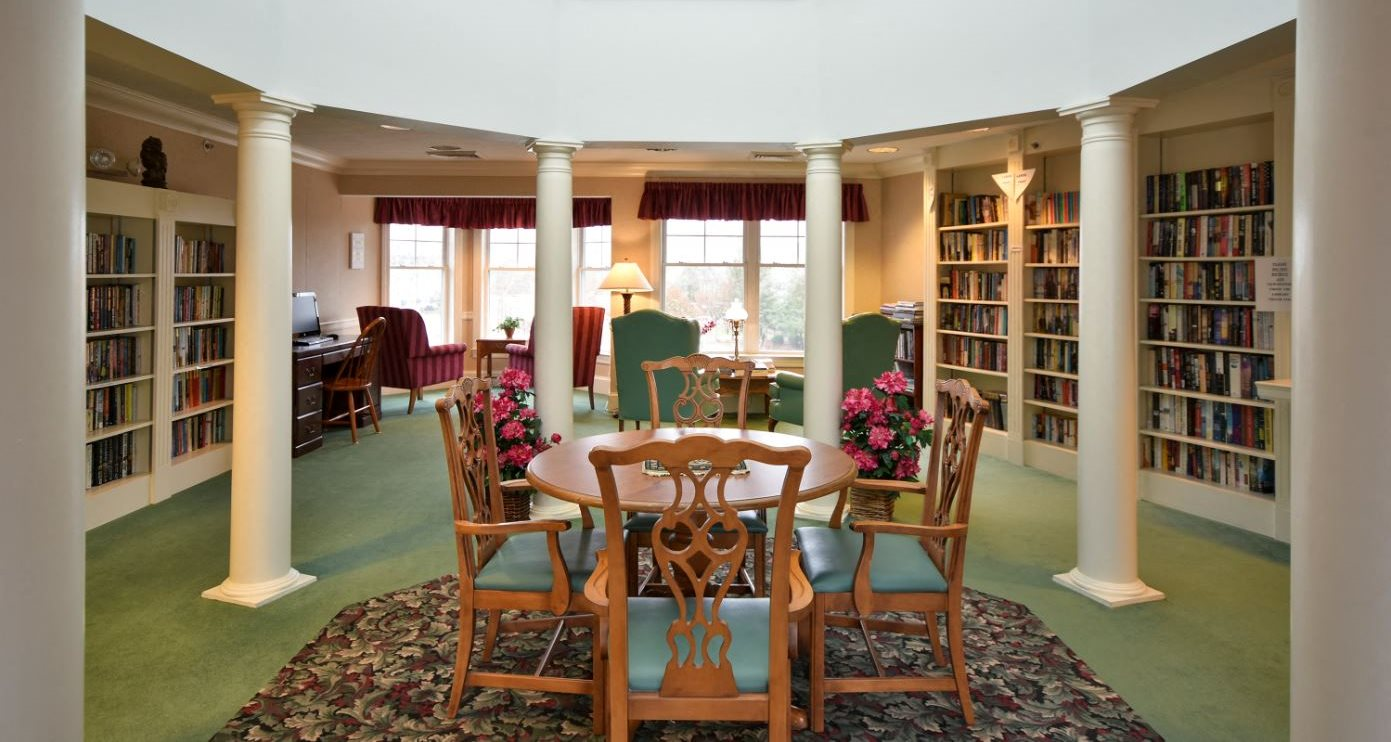 meetinghouse at riverfront senior independent living library