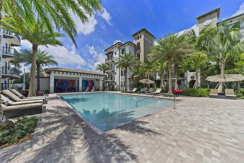 ventura pointe apartments in pembroke pines pool