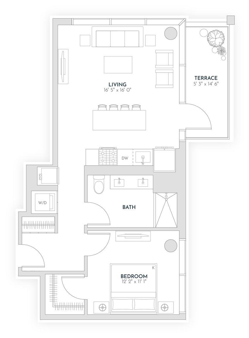 floor plan x11 - Avra West Loop