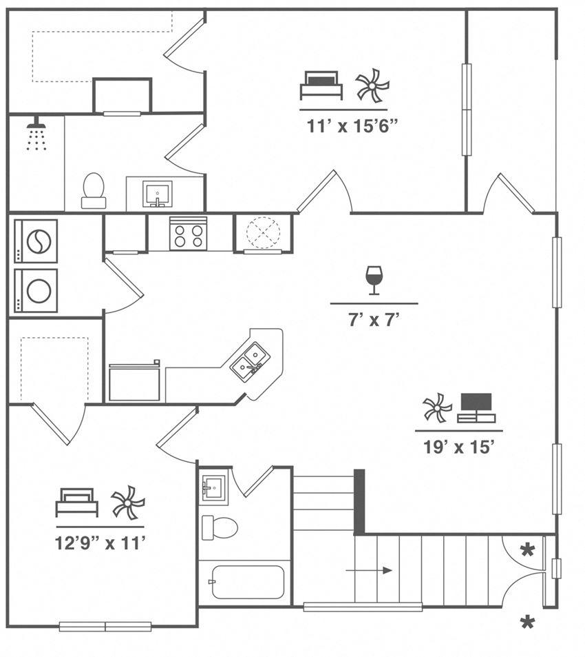 B1U + Garage