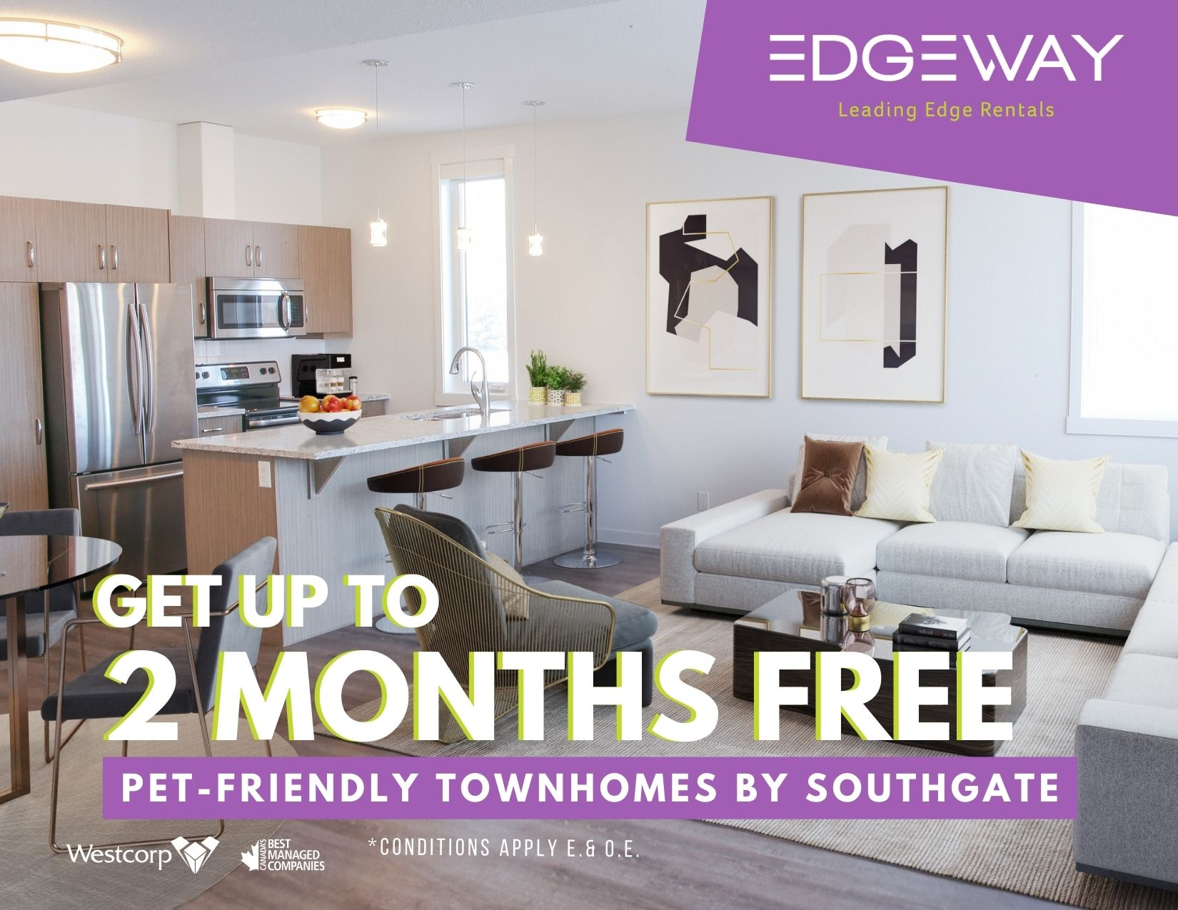 get up to two months free