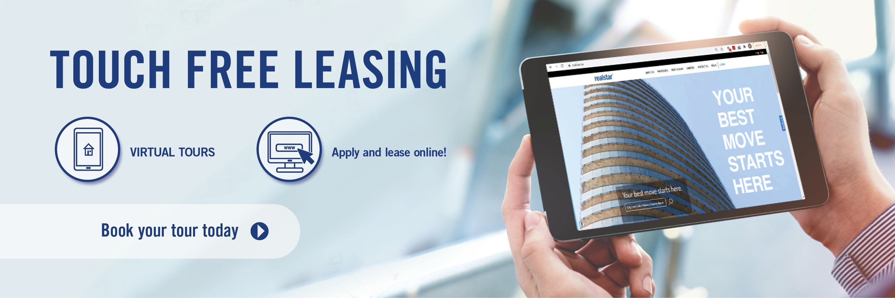 Now Offering Touch Free Leasing