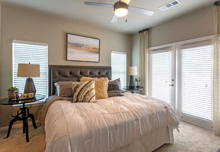 Lullwater at Blair Stone |Patio/ Balcony Access from your Bedroom