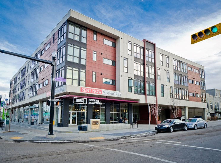 Mission 17 residential rental apartments on 17th Avenue SW