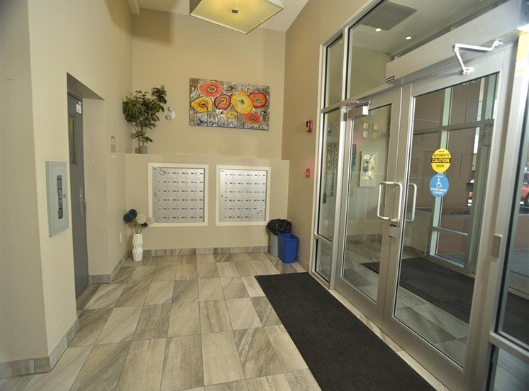 Mission 17 residential rental apartments secure entrance