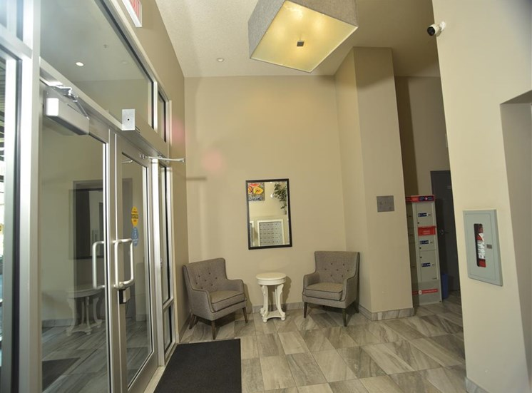 Mission 17 residential rental apartments secure lobby