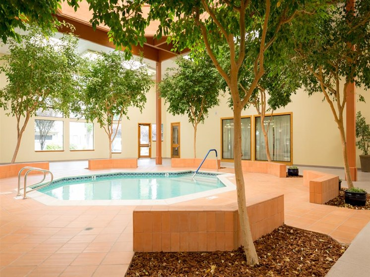 Year-Round Hot Tub at Cogir of Fremont, California, 94536