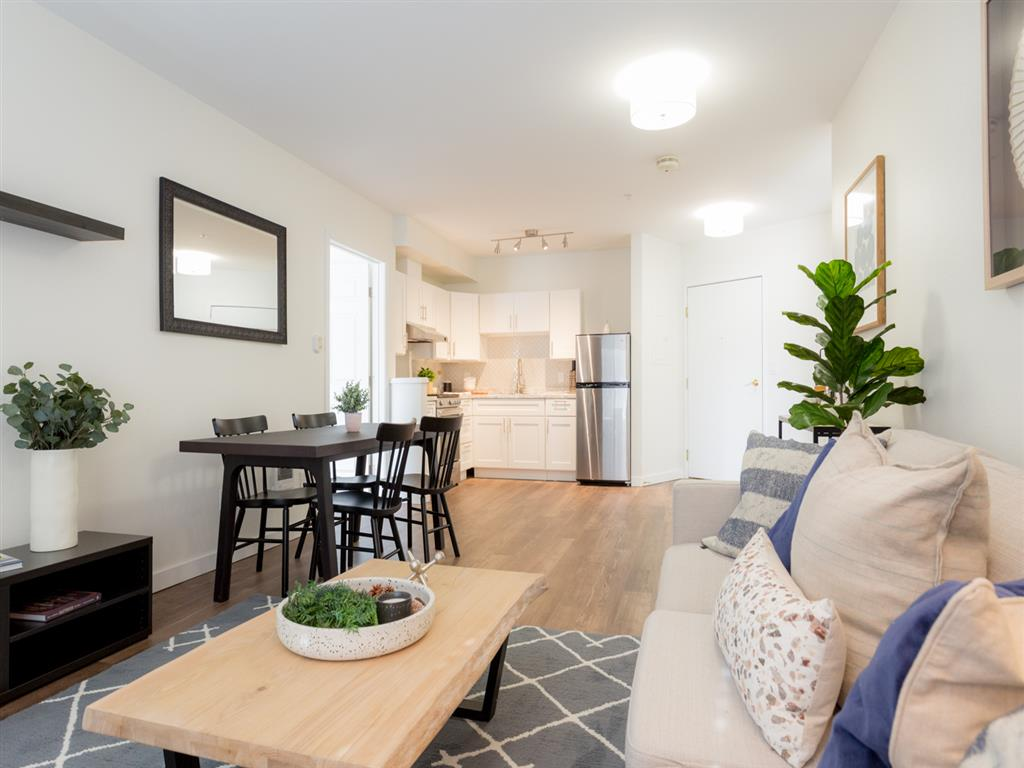 Choose from spacious studio, one- or two-bedroom apartments floorplans up to 1,340 sq./ft.  On-site concierge service, weekly housekeeping and linen service included. Covered and uncovered parking available, scheduled transportation services and we're pet friendly!