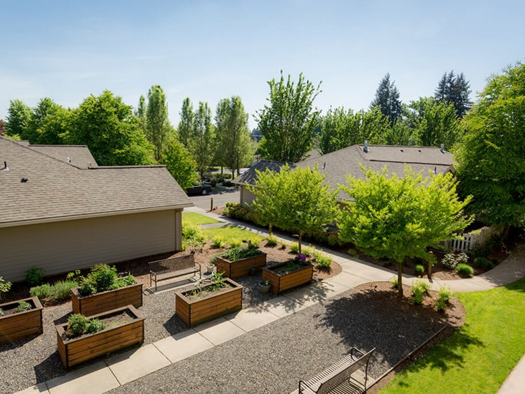 Aerial View Of The Property at Cogir of Vancouver, Washington