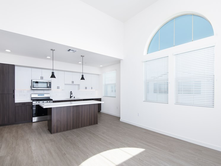 Open-Concept Penthouse Floor Plan At The Club At Enclave Apartments In Chula Vista, CA