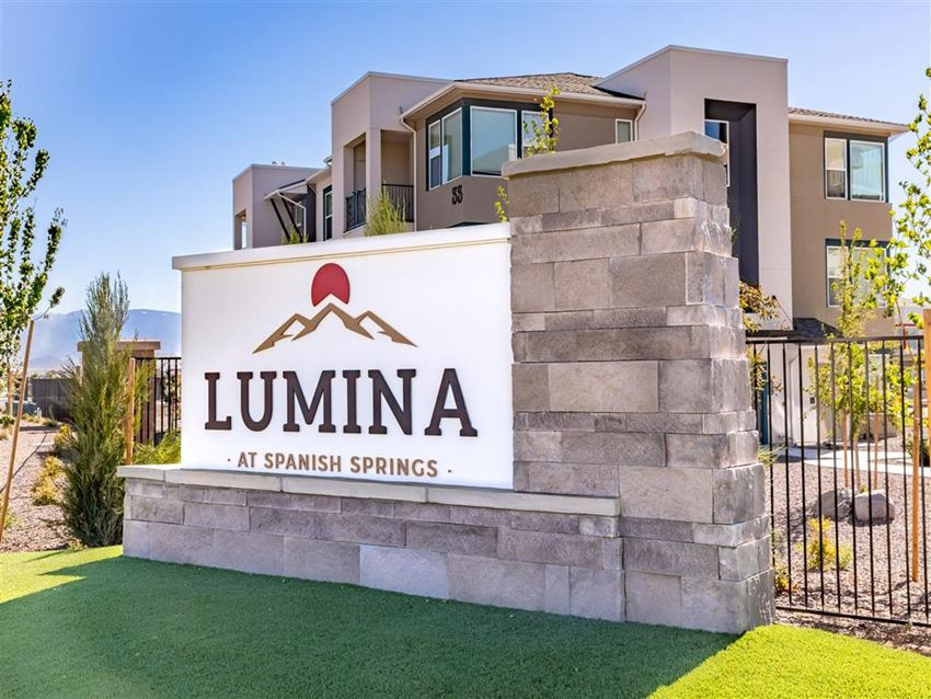 Community Sign | Lumina at Spanish Springs