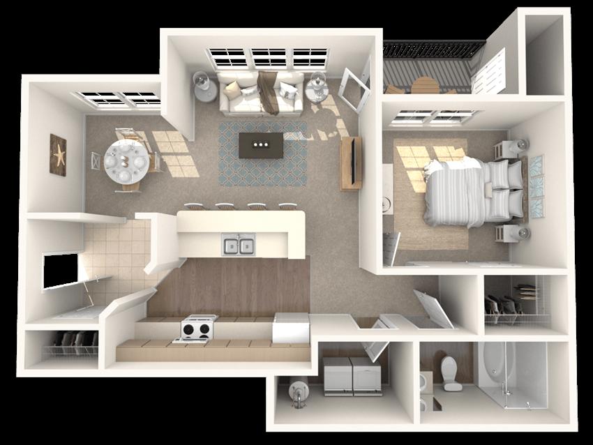 Topaz Floor Plan |Ashlar