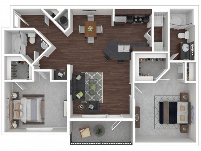 Hawthorn Floor Plan| Cypress Legends