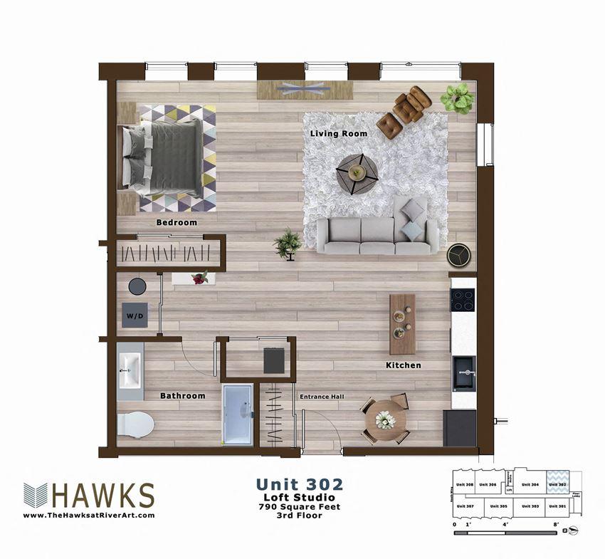 302-Loft 3rd Floor