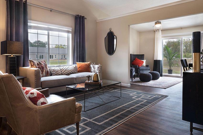 Holt Michigan Apartment Rentals Redwood Living Redwood Holt Forestwood Living Room