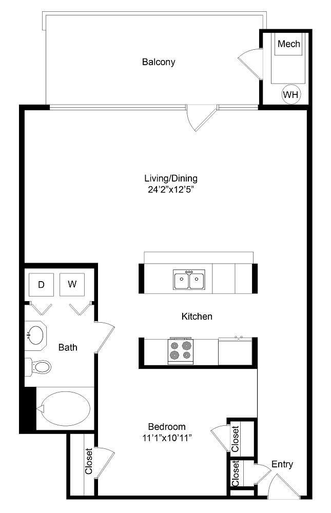 City Gate Highland floor plan