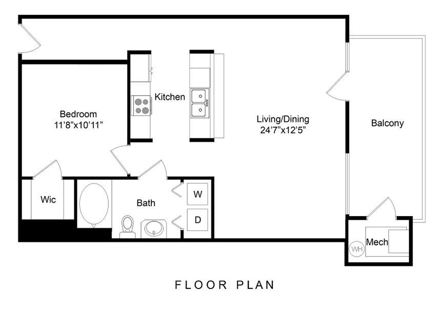 City Gate Wewatta floor plan