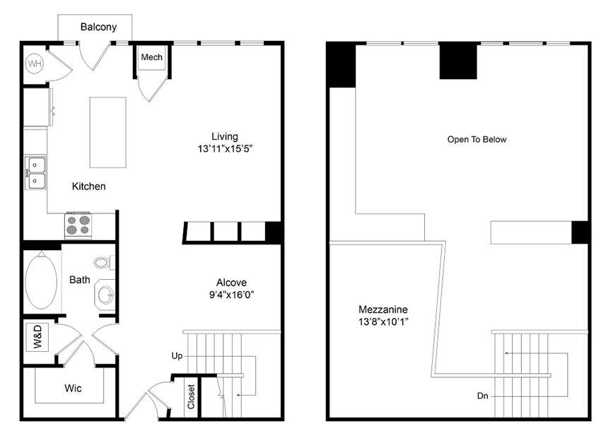 City Gate Larimere floor plan