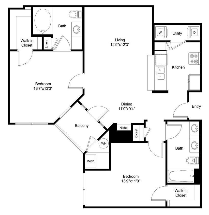 City Gate Kennedy floor plan