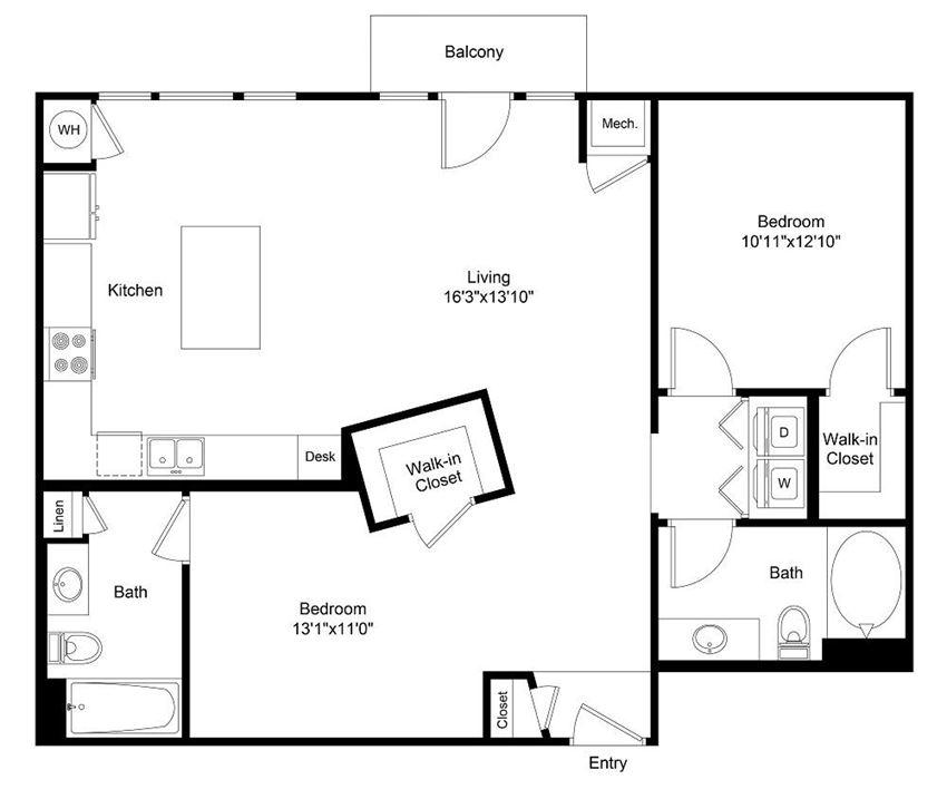City Gate Welton floor plan