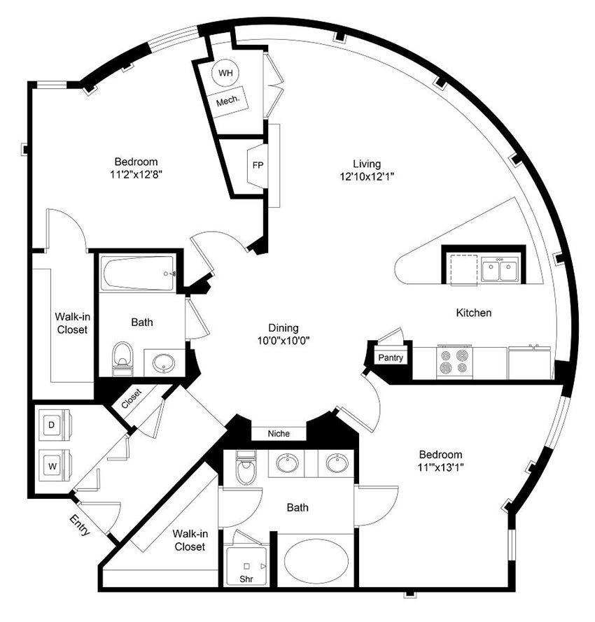 City Gate Platte floor plan