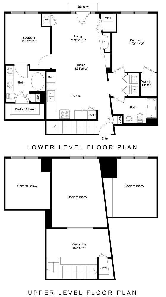 City Gate Arapahoe floor plan