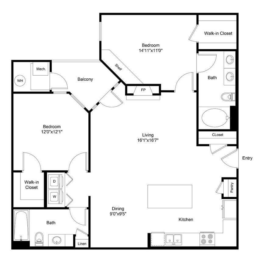 City Gate Champa floor plan